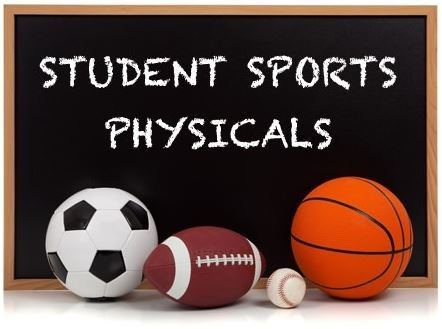 Physicals Student School Sports Camp
